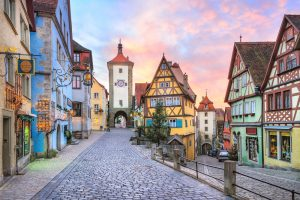 Rothenburg, europeisk arkitektur